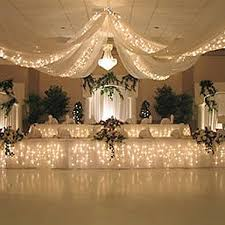 ceiling draping for weddings wedding ceiling drapes with lights event decor direct
