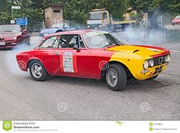 classic alfa romeo gtv classic alfa romeo gtv race car editorial stock image image
