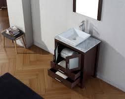 abodo 28 inch single vessel sink bathroom vanity espresso finish