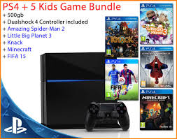 Ps4 Suspend New Sony Playstation 4 Console 500gb 5 Kids Games Bundle Ps4