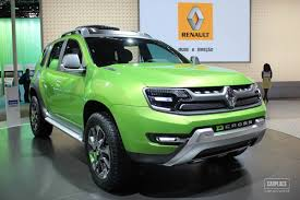 duster renault 2014 renault duster facelift based on dcross concept