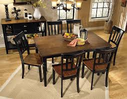 Wood Dining Room Tables And Chairs Amazon Com Ashley Furniture Signature Design Owingsville