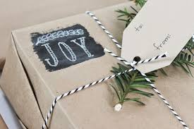 chalkboard painted wrapping paper colors and craft
