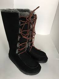 s ugg lace up boots black s ugg lace up boots 6 us f3005f s n 5230