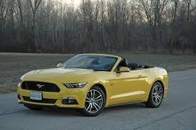 review 2015 ford mustang gt convertible is more of a laid back