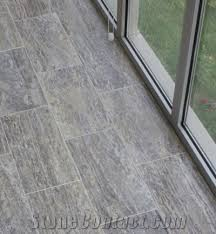 grey travertine floor tiles silver travertine vein cut