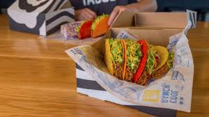 national taco day taco bell deal 5 gift box with four tacos