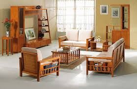 sofa lovely simple wooden sofa sets for living room simple