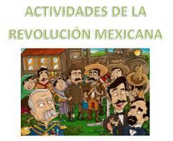 imagenes de la revolucion mexicana en preescolar actividades de la revolución mexicana material educativo