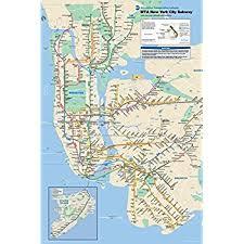 map of new york subway new york city subway map poster print nyc poster