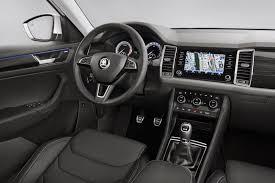 seat ateca interior skoda kodiaq interior revealed features u0027glass design u0027 touch display
