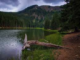 New Mexico lakes images Middle fork lake red river new mexico there are few things i jpg