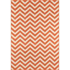 Outdoor Chevron Rug Momeni Baja Chevron Orange Indoor Outdoor Area Rug 1 8 X 3 7 1