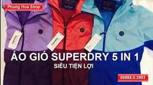 Quần áo xuất khẩu H Ná ™i o gi³ Superdry 5 in 1 siªu tiá ‡n lá £i