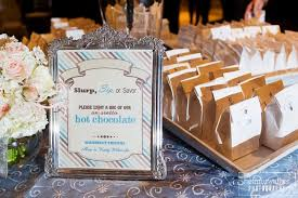 hot cocoa wedding favors year in review 2013 real weddings stardust celebrations