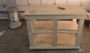 make a kitchen island cart kitchen island project coptool