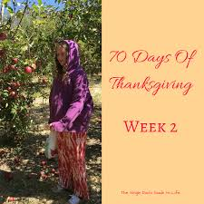 the day of thanksgiving 70 days of thankfulness week two u2014 the single dad u0027s guide to life
