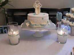 centerpieces for baptism simple looking baptism decorations the home decor ideas