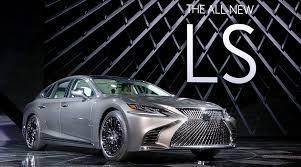 lexus ls las vegas introducing the all new 2018 lexus ls 500