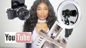 camera and lighting for youtube videos starting up a youtube channel on a budget makeup lighting camera