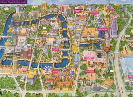 Aquatica Map San Antonio Map Maps San Antonio Texas Usa