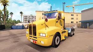 kenwood truck kenworth t600 for american truck simulator new ats kenworth t600