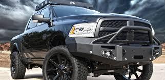 2017 dodge prerunner premium front bumper fab fours