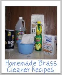 brass cleaner recipes