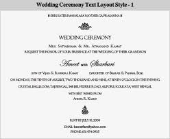 wedding ceremony program sles invitation wedding ceremony wording wedding invitation ideas