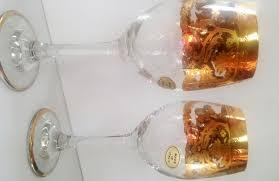 j preziosi lavorato a mano italian wine glasses elegant