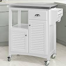 chariot de cuisine sobuy fkw37 w desserte sur roulettes meuble chariot de cuisine de