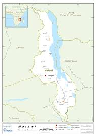 Malawi Map 2 4 Malawi Railway Assessment Logistics Capacity Assessment