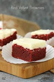 cheesecake filled red velvet brownies recipes dessert