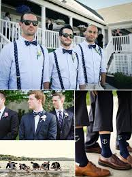 nautical chic attire page boys fashioned wedding http baughanphotography