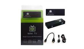 mini tv for android mk808b bluetooth android 4 2 mini pc tv box stick dual 8gb