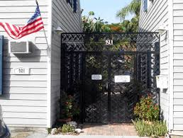 Key West Flag Old Town Garden Villas 921 Center Street Key West Florida An