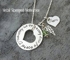 personalized remembrance jewelry miscarriage infant loss necklaces metal sted memories