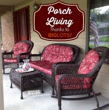 loving porch living with patio set from big lots gobig