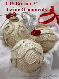 ornament tutorial supplies glass ornament burlap twine and