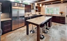 kitchen island remodel grind and seal concrete floor flatblack co