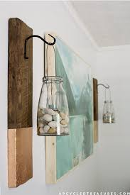diy large scale wall with wood frame by upcycled treasures for