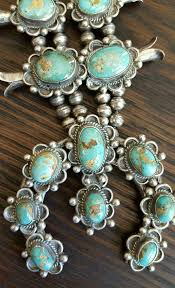 vintage turquoise silver necklace images 297 best squash blossom necklaces images turquoise jpg