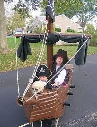 Pirate Decorations Homemade Coolest Homemade Pirate Ship Wagon And Pirate Costume Buy