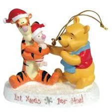 disney winnie the pooh wreath christmas tree ornament holiday