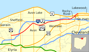 Google Maps Ohio by Ohio State Route 254 Wikipedia