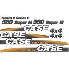 amazon com whole decal set made for case 580 super m extendahoe