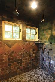 cool shower heads bathroom rustic with awning window double shower