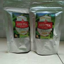 Teh Merah teh merah roiboos kualitas terbaik tea activa celup penggemuk