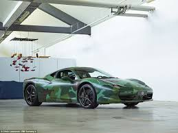 458 for sale australia camouflage coloured 458 for sale at auction daily mail