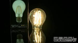 Ampoule Deco Filament Nx3623 Ampoule Poire Led à Filament A E27 7 5 W 810 Lm 360
